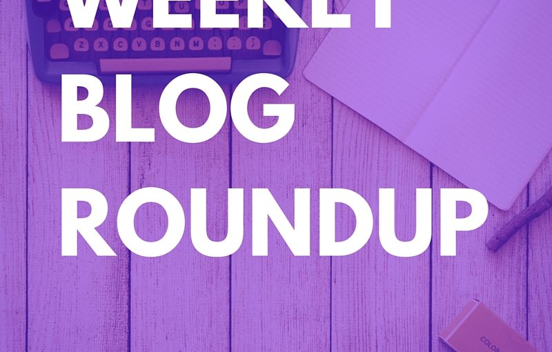 Weekly Blog Roundup – July 8, 2016